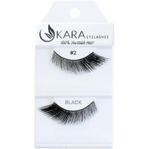 Kara Human Hair Eyelashes #002