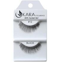 Kara Human Hair Eyelashes #012
