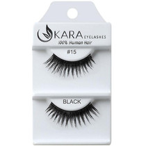 Kara Human Hair Eyelashes #015