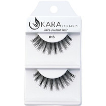 Kara Human Hair Eyelashes #016
