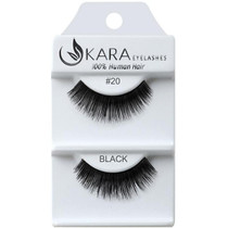 Kara Human Hair Eyelashes #020