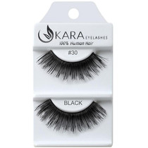 Kara Human Hair Eyelashes #030