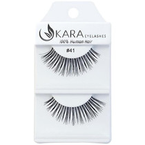 Kara Human Hair Eyelashes #041