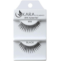 Kara Human Hair Eyelashes #099