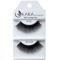 Kara Human Hair Eyelashes #100