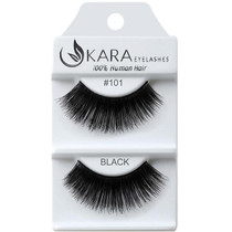 Kara Human Hair Eyelashes #101