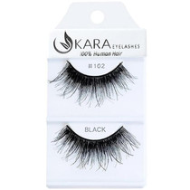 Kara Human Hair Eyelashes #102
