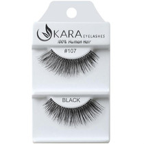 Kara Human Hair Eyelashes #107