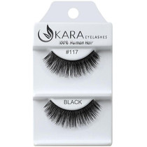 Kara Human Hair Eyelashes #117