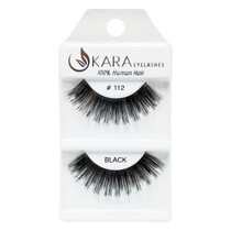 Kara Human Hair Eyelashes #112
