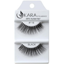 Kara Human Hair Eyelashes #118