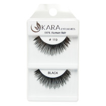 Kara Human Hair Eyelashes #119