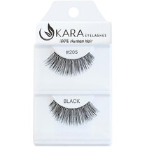 Kara Human Hair Eyelashes #205