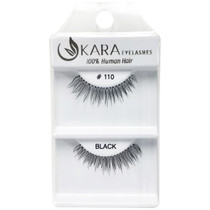Kara Human Hair Eyelashes #110