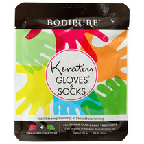 Bodipure Keratin Gloves & Socks All-In-One Hand & Foot Treatment
