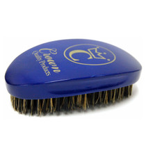 Crown 360 Gold Caesar Brush, Royal Blue - Medium Bristle