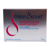 Coup d'Eclat Face Lifting Beauty Ampoules, 12 count