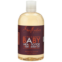 Shea Moisture Red Tea & Babassu Baby Head-To-Toe Wash & Shampoo 12 oz