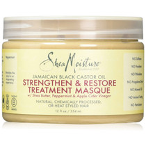 Shea Moisture Jamaican Black Castor Oil Strengthen & Restore Treatment Masque 12 oz