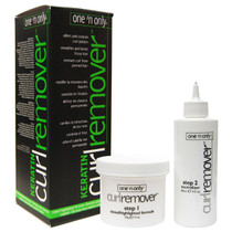 One 'n Only Curl Remover with Keratin Tinted/Highlighted Formula