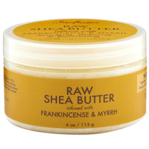 Shea Moisture Raw Shea Butter Infused with Frankincense & Myrrh 4 oz