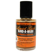 Liquid Gold Bond A Weav Extra Super Adhesive Bottle 1 oz