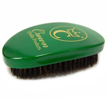 Crown 360 Gold Caesar Brush, Emerald Green - Soft Bristle