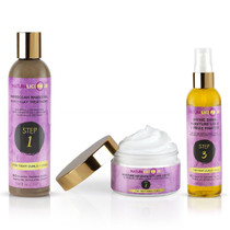 Naturalicious Step 1, Step 2, Step 3 (For Tight Curls + Coil) (Set)