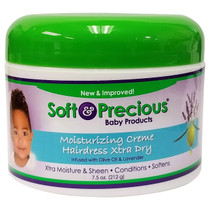 Soft & Precious Baby Products Moisturizing Creme Hairdress Xtra Dry 7.5 oz