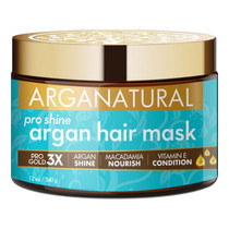 Arganatural Gold Pro Shine Argan Hair Mask 12 oz