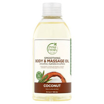 Petal fresh pure smoothing body&massage oil coconut 5.5oz