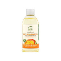 Petal fresh pure clarifying body&massage oil Mandarin&Mango 5.5oz