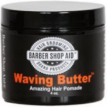 Barber Shop Aid Waving Butter Amazing Hair Pomade 4oz