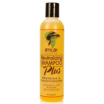 African Essence Neutralizing Shampoo Plus Proteins & Conditioner 8 oz