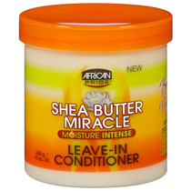 African Pride Shea Butter Miracle Leave-in Conditioner 15 oz