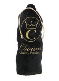 Crown Quality Products Onyx BLACK - Crown Brush Bag