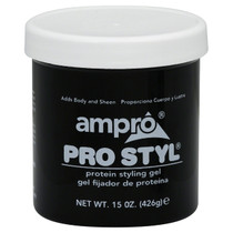 Ampro Style Protein Styling Gel 15 oz (Regular)