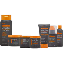 Cantu Men's Hair and Shaving Care 7-piece Collection
