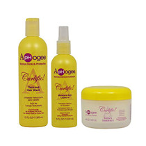 "ApHogee Curlific Textured Hair Wash 12oz + Moisture Rich Leave-In + Texture Treatment 8oz ""Set"""