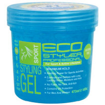 Eco Styler Color Treated Styling Gel Blue 16 oz
