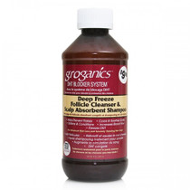 Groganics Deep Freeze Follicle Cleanser & Scalp Abosorbent Shampoo 8 oz
