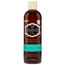 Hask Bamboo Oil Strengthening Shampoo 12 oz