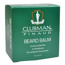 Clubman Pinaud Beard Balm Conditioning Style Wax 2 oz