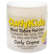 CurlyKids Curly Creme Leave-In Conditioner 6 oz
