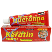 Novex Brazilian Hair Treatment Keratin Recharge (Recarga de Queratina) 2.8 oz