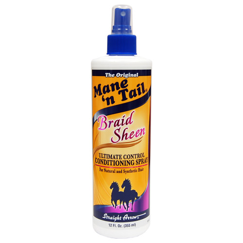 Mane 'n Tail Braid Sheen Spray 12 oz