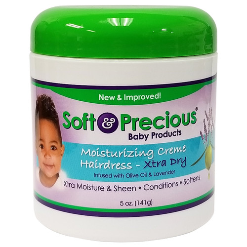 Soft & Precious Baby Products Moisturizing Creme Hairdress Xtra Dry 5 oz