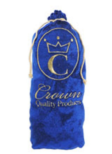 Crown Quality Products Royal BLUE - Crown Brush Bag