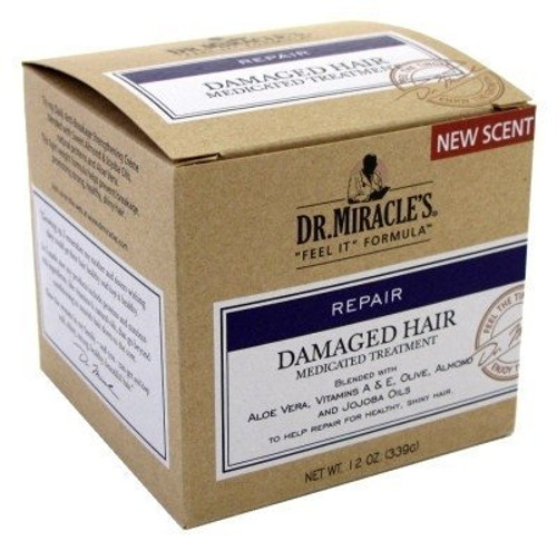 Dr. Miracles Damaged Hair Medicated Treatment 12oz