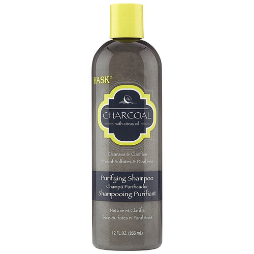 Hask Charcoal with Citrus Oil Purifying Shampoo 12 oz